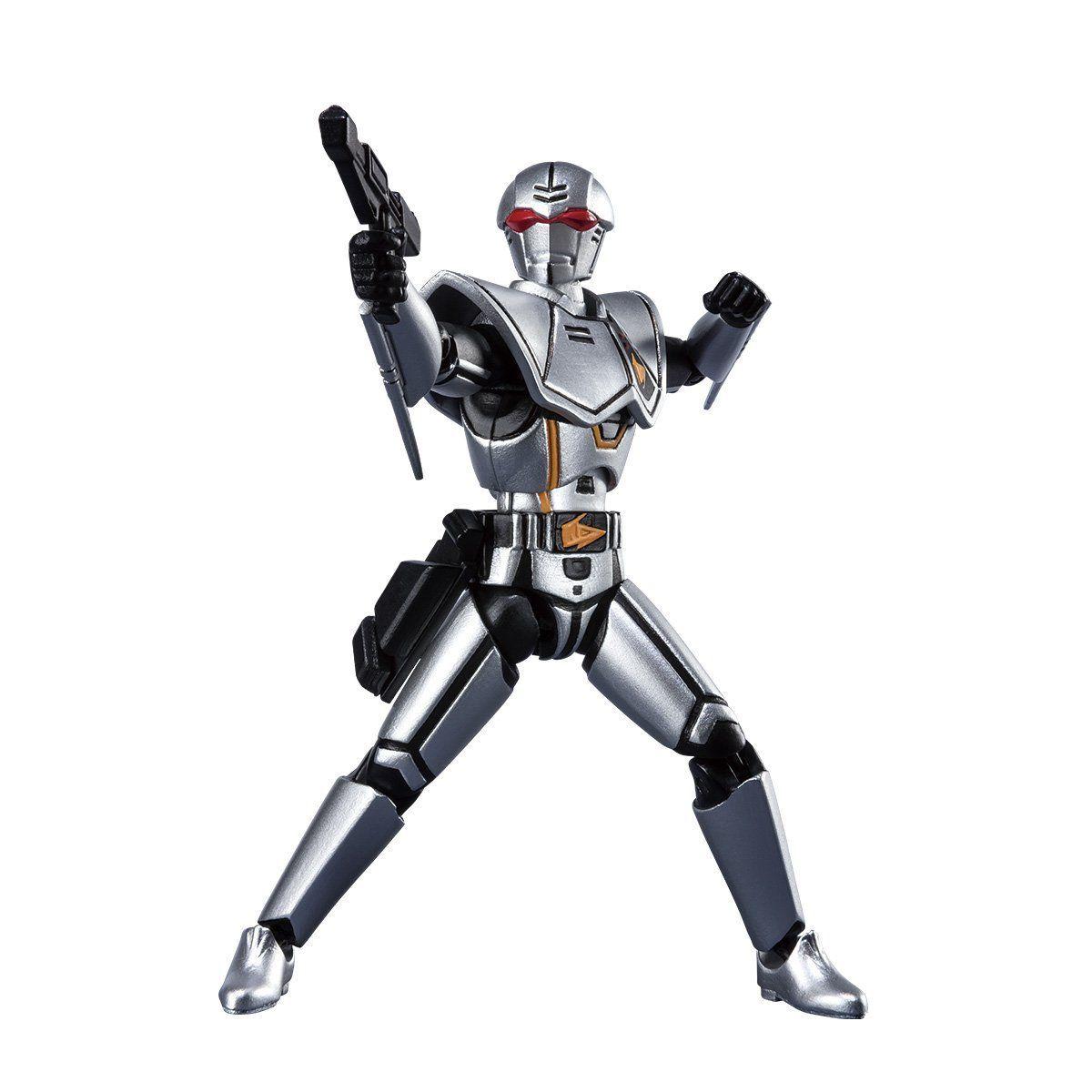 【限定販売】【食玩】SHODO SUPER『バイオハンター・シルバ』超電子バイオマン 可動フィギュア-001
