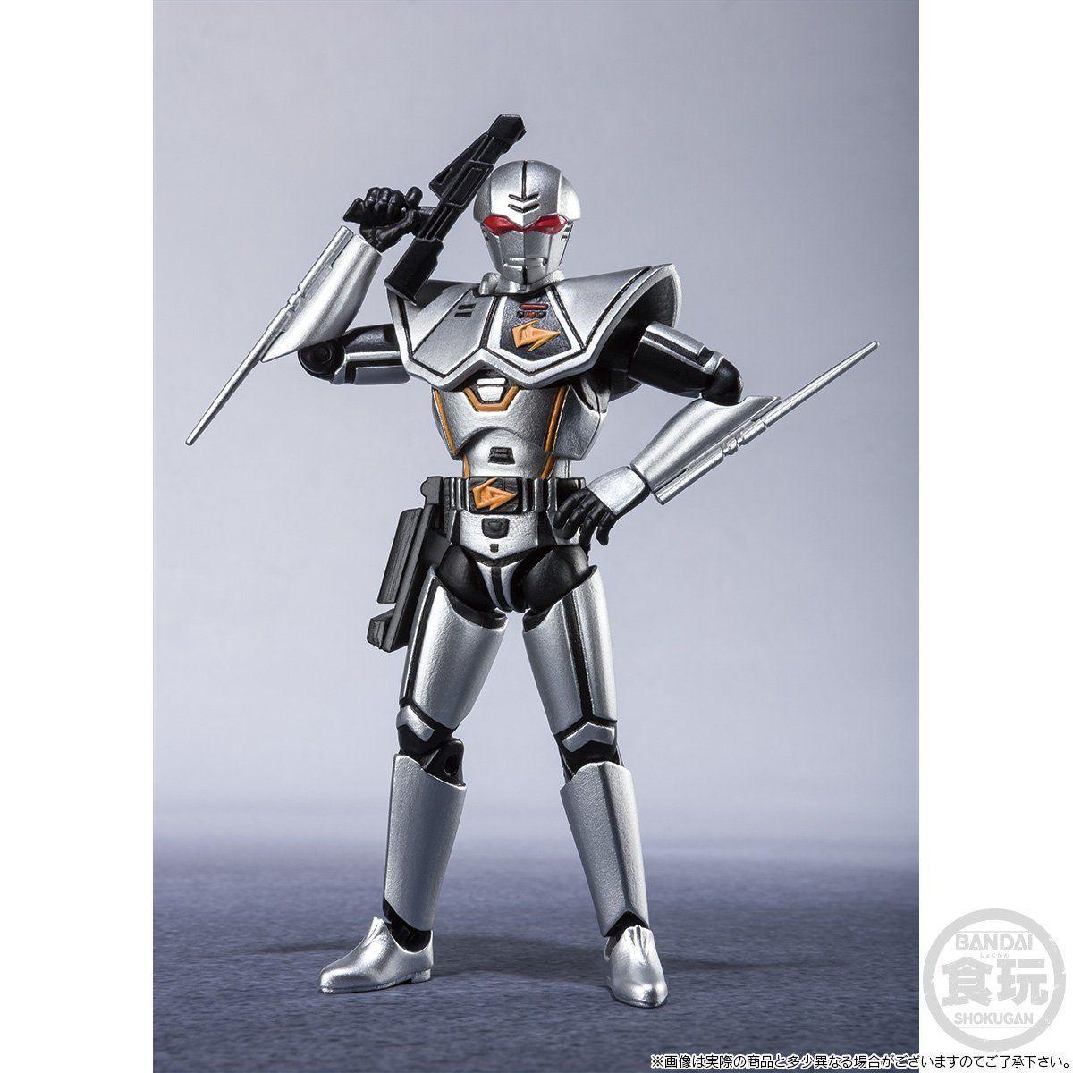 【限定販売】【食玩】SHODO SUPER『バイオハンター・シルバ』超電子バイオマン 可動フィギュア-003