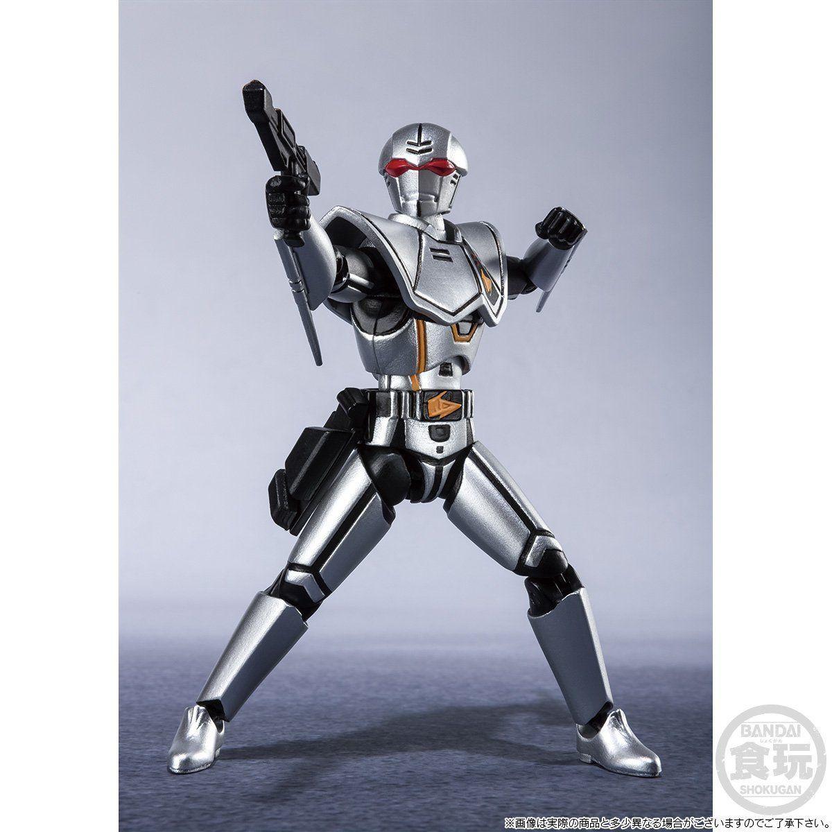 【限定販売】【食玩】SHODO SUPER『バイオハンター・シルバ』超電子バイオマン 可動フィギュア-004
