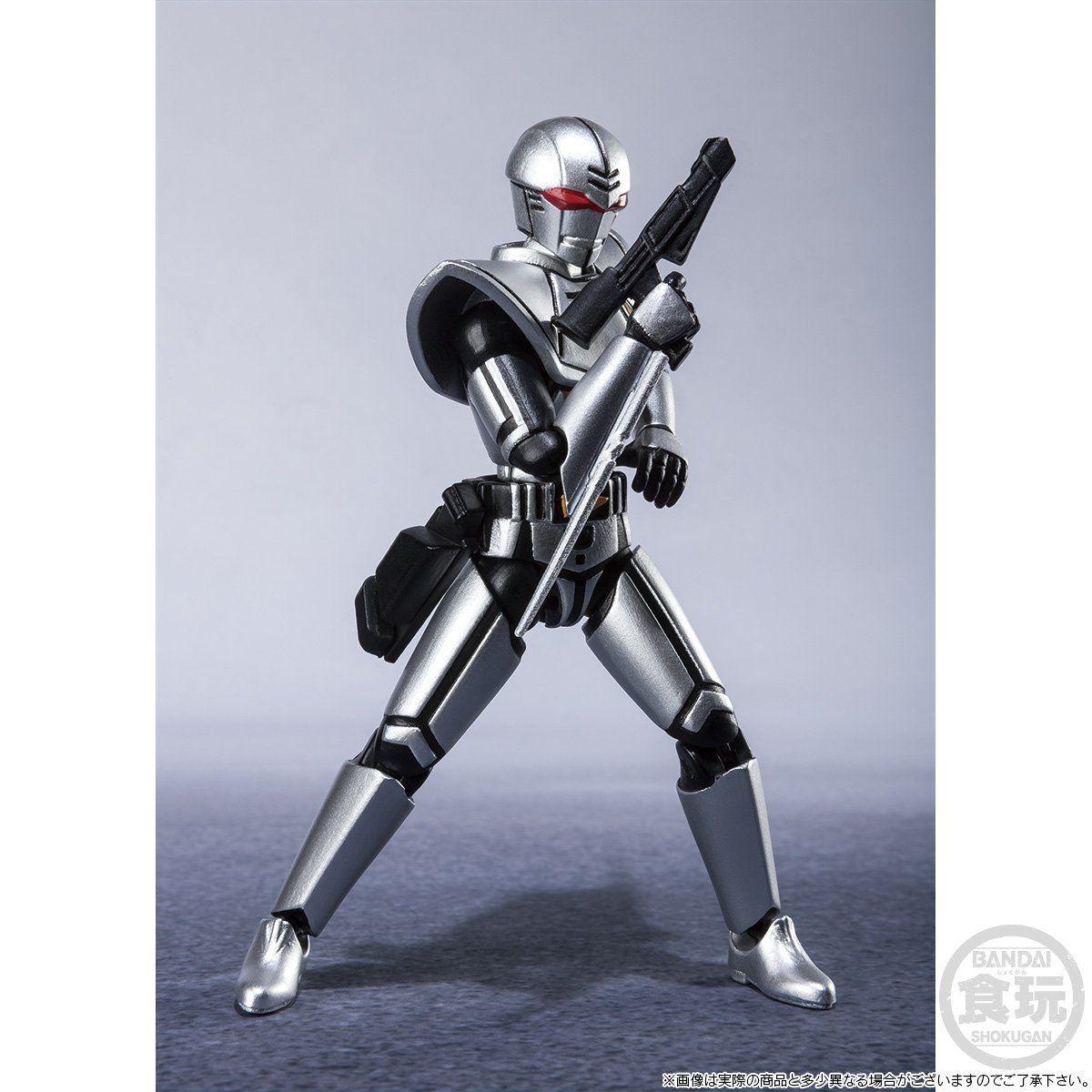 【限定販売】【食玩】SHODO SUPER『バイオハンター・シルバ』超電子バイオマン 可動フィギュア-005