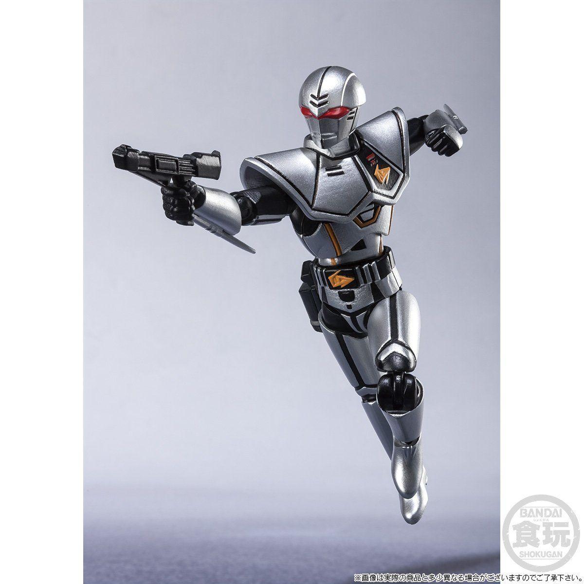 【限定販売】【食玩】SHODO SUPER『バイオハンター・シルバ』超電子バイオマン 可動フィギュア-006
