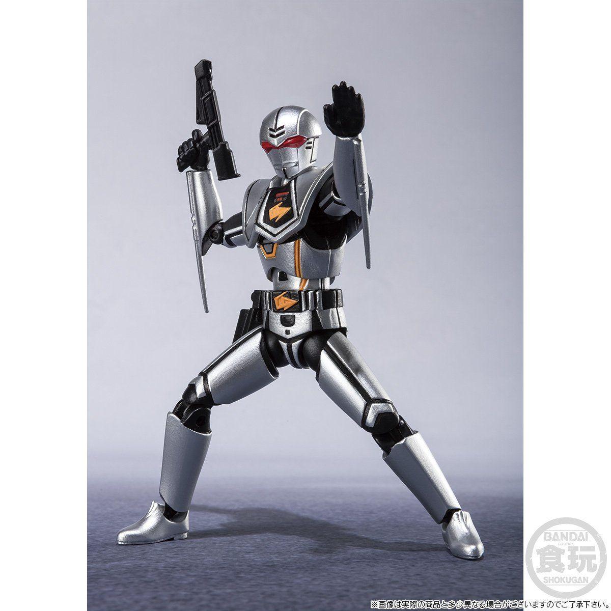 【限定販売】【食玩】SHODO SUPER『バイオハンター・シルバ』超電子バイオマン 可動フィギュア-007