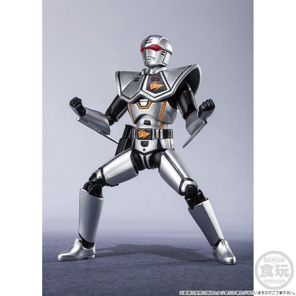 【限定販売】【食玩】SHODO SUPER『バイオハンター・シルバ』超電子バイオマン 可動フィギュア-008