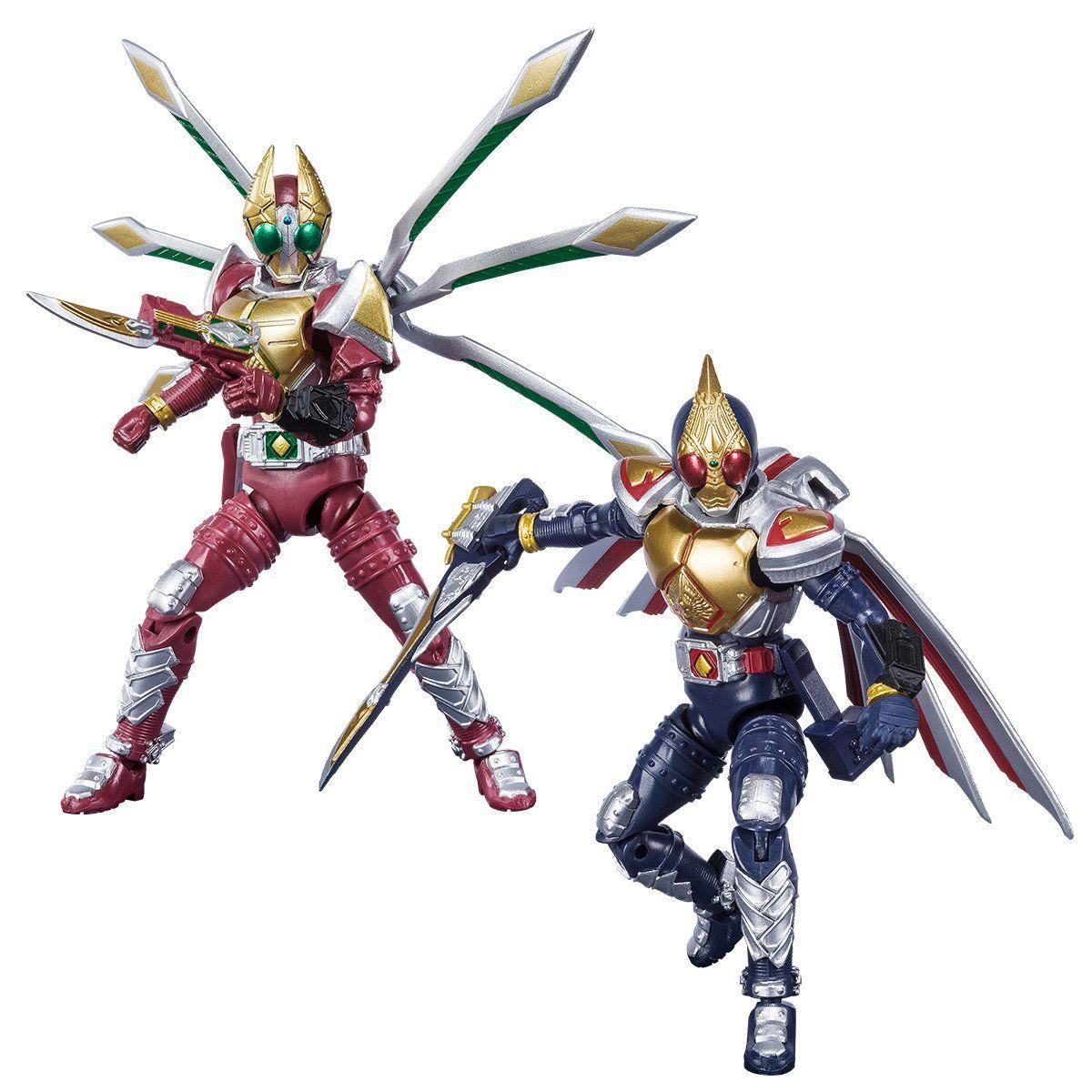 【限定販売】【食玩】SHODO-X『仮面ライダー剣 ジャックフォームセット』可動フィギュア-001