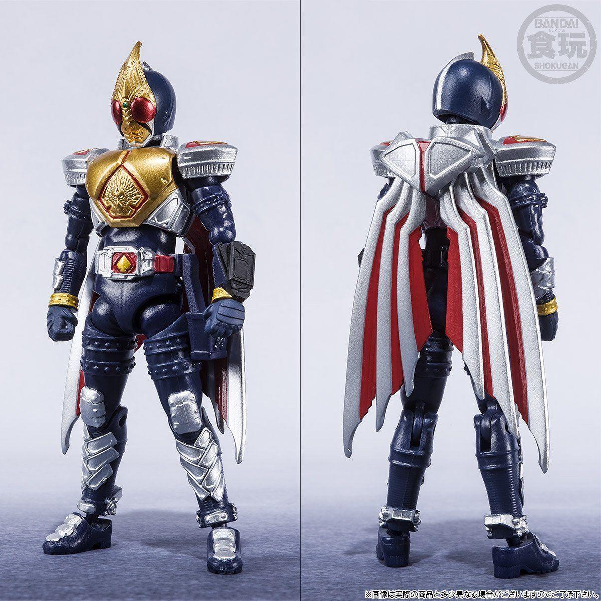 【限定販売】【食玩】SHODO-X『仮面ライダー剣 ジャックフォームセット』可動フィギュア-002