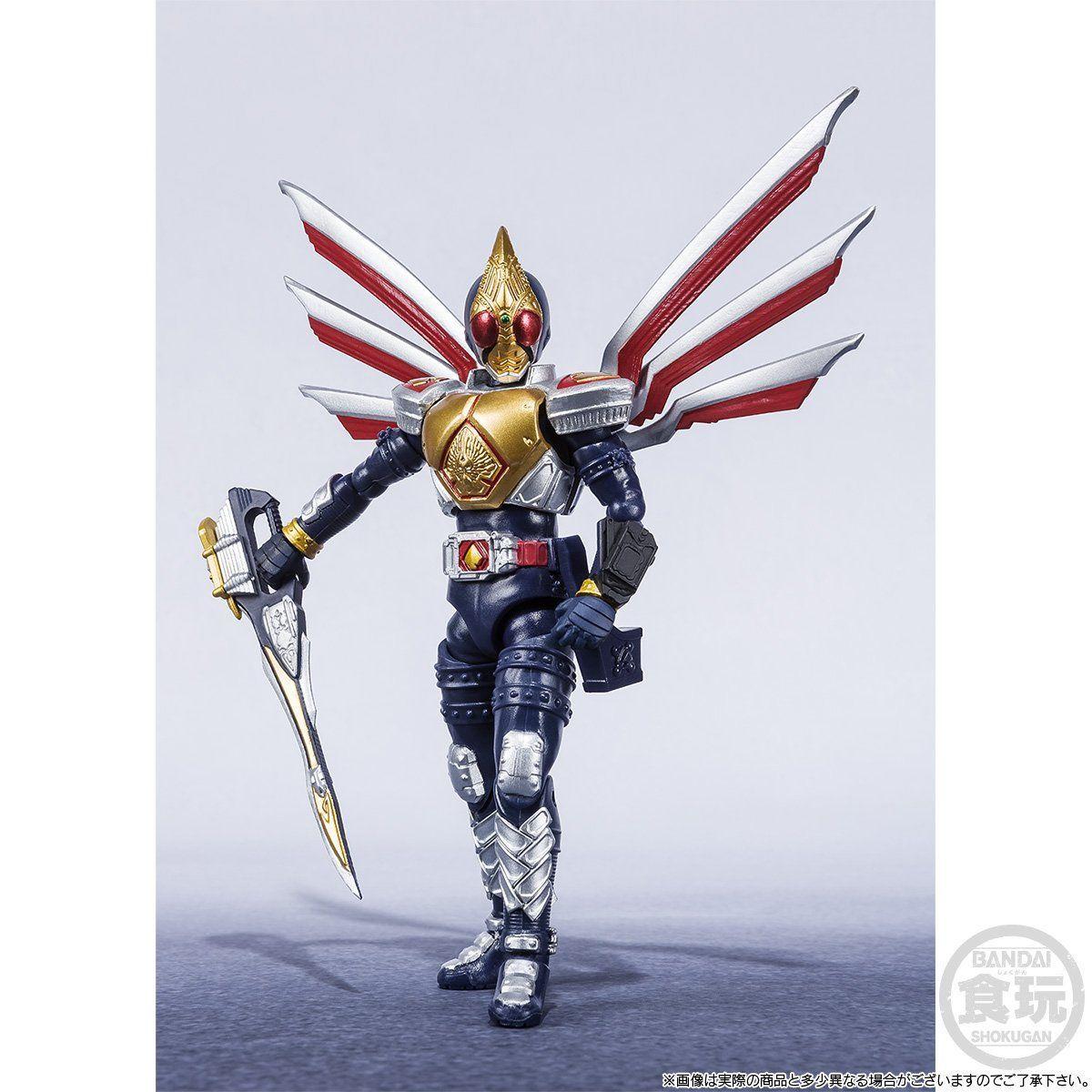 【限定販売】【食玩】SHODO-X『仮面ライダー剣 ジャックフォームセット』可動フィギュア-003