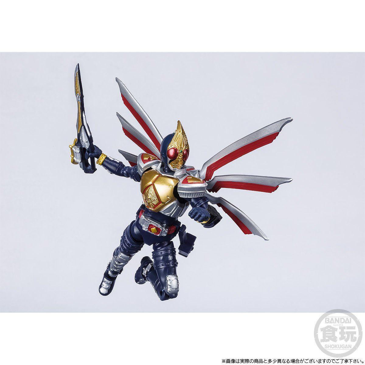 【限定販売】【食玩】SHODO-X『仮面ライダー剣 ジャックフォームセット』可動フィギュア-004