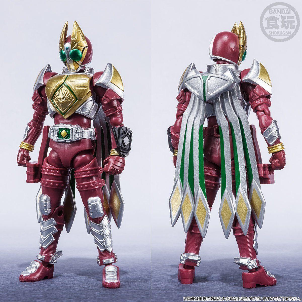 【限定販売】【食玩】SHODO-X『仮面ライダー剣 ジャックフォームセット』可動フィギュア-005