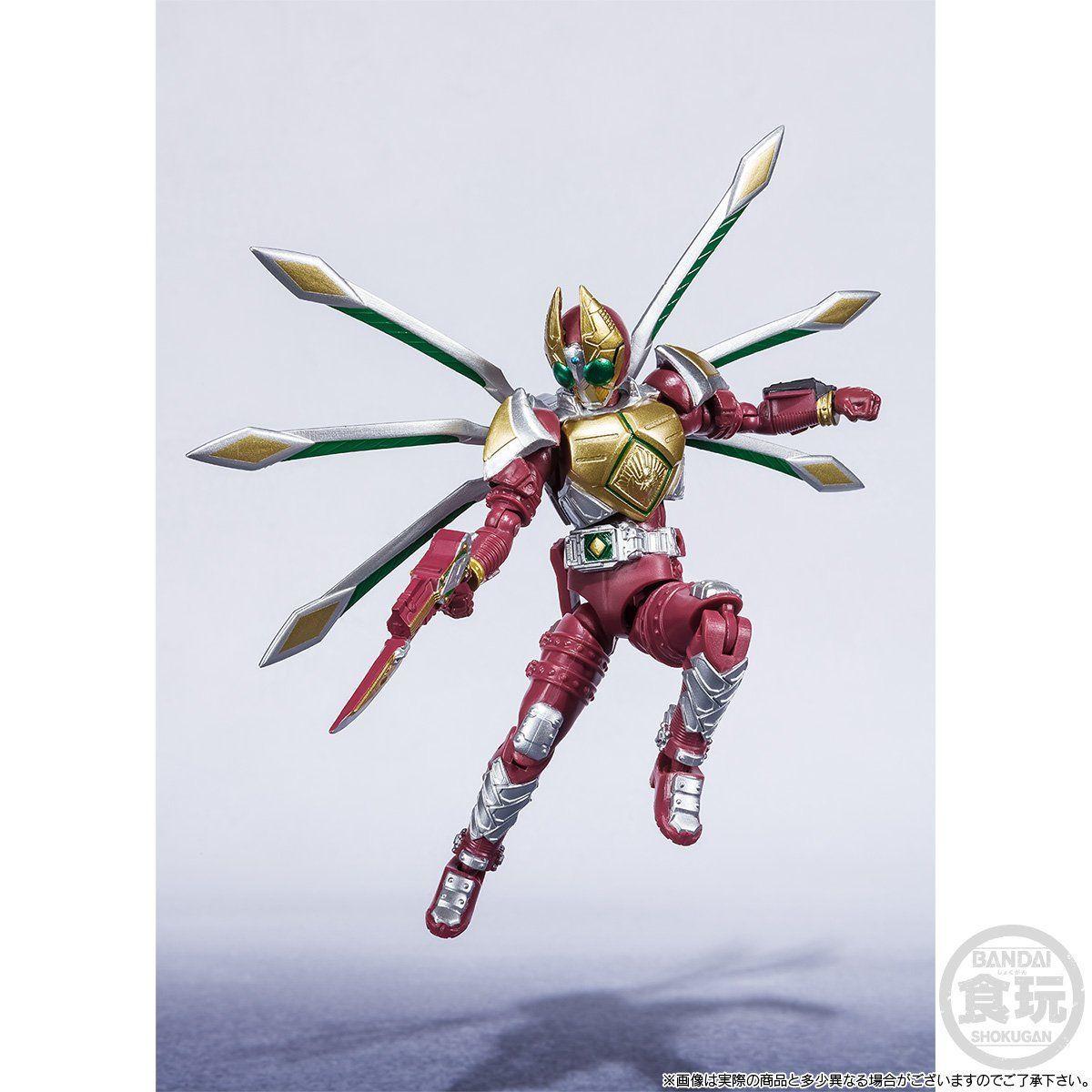 【限定販売】【食玩】SHODO-X『仮面ライダー剣 ジャックフォームセット』可動フィギュア-006