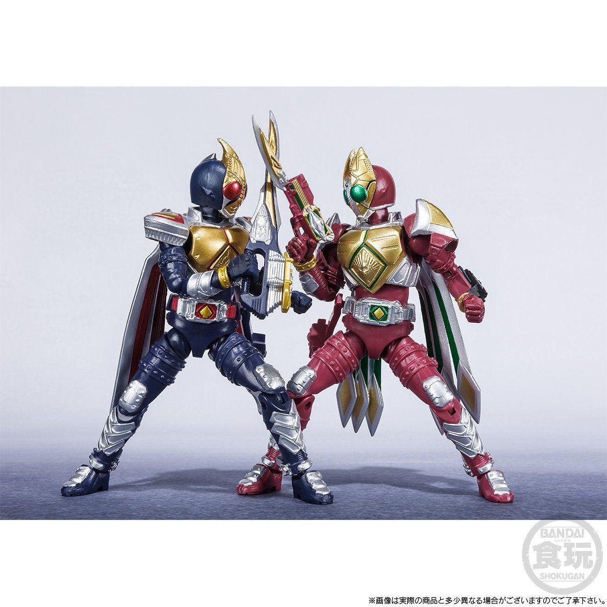 【限定販売】【食玩】SHODO-X『仮面ライダー剣 ジャックフォームセット』可動フィギュア-009