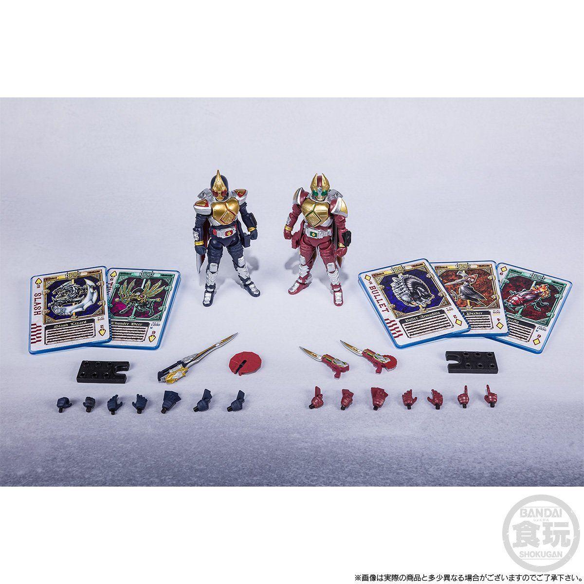 【限定販売】【食玩】SHODO-X『仮面ライダー剣 ジャックフォームセット』可動フィギュア-010