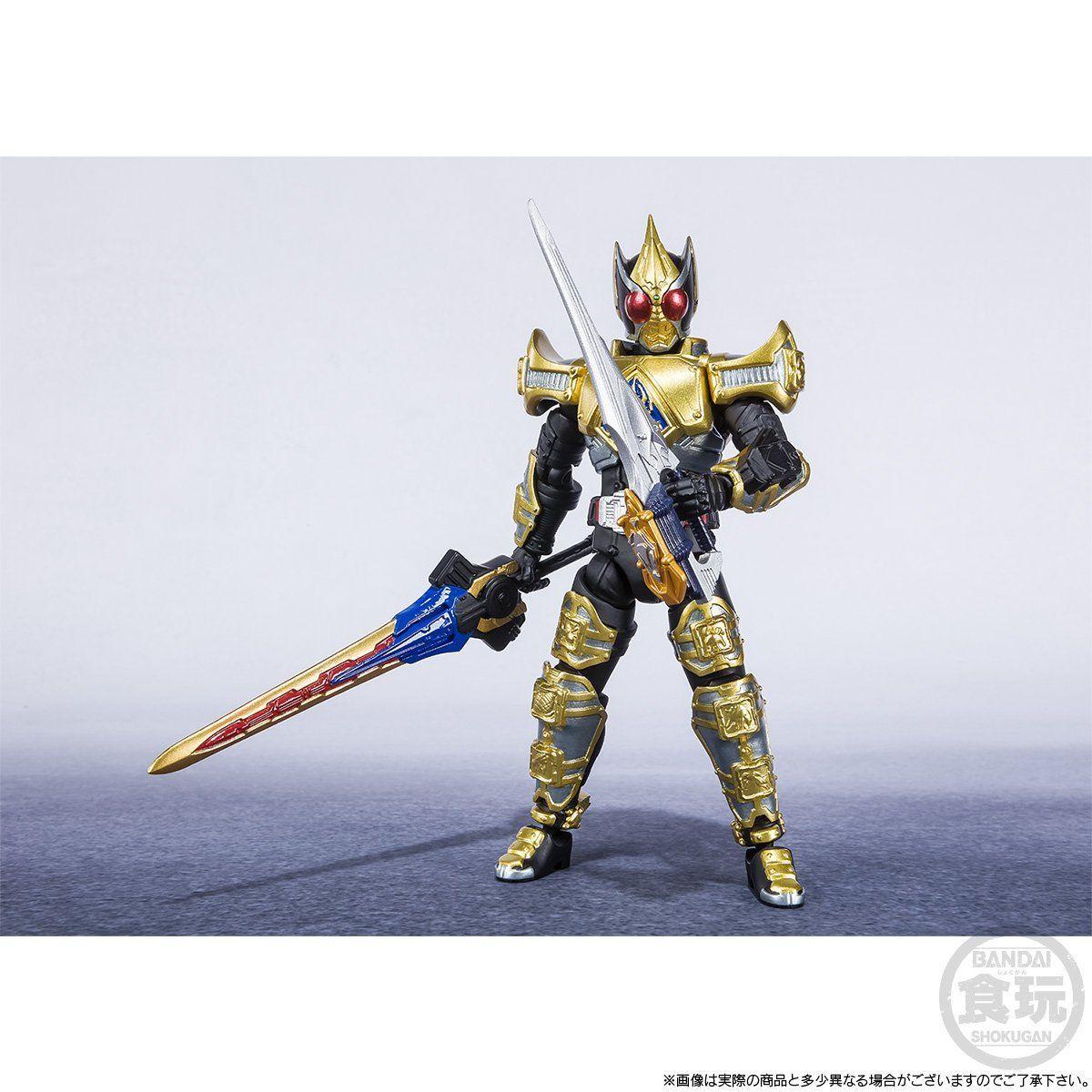 【限定販売】【食玩】SHODO-X『仮面ライダー剣 キングフォームセット』可動フィギュア-004