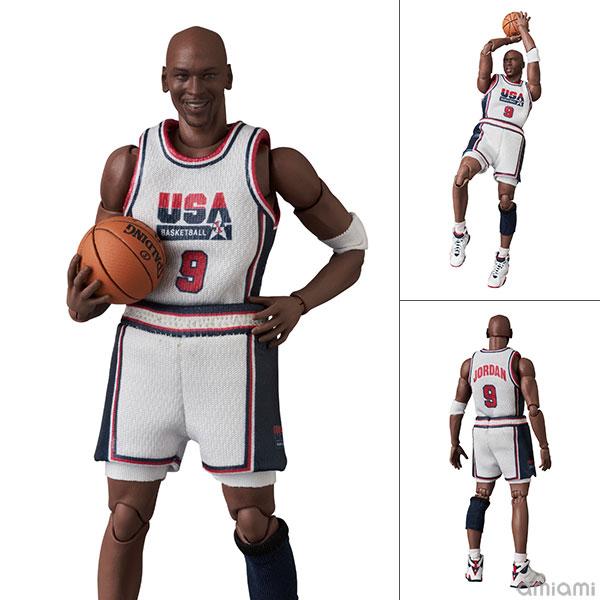 マフェックス No.100『Michael Jordan(Chicago Bulls)』可動フィギュア