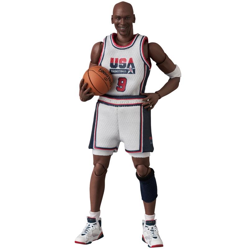 マフェックス No.100『Michael Jordan(Chicago Bulls)』可動フィギュア-001