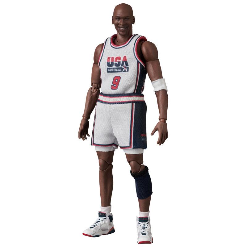 マフェックス No.100『Michael Jordan(Chicago Bulls)』可動フィギュア-003