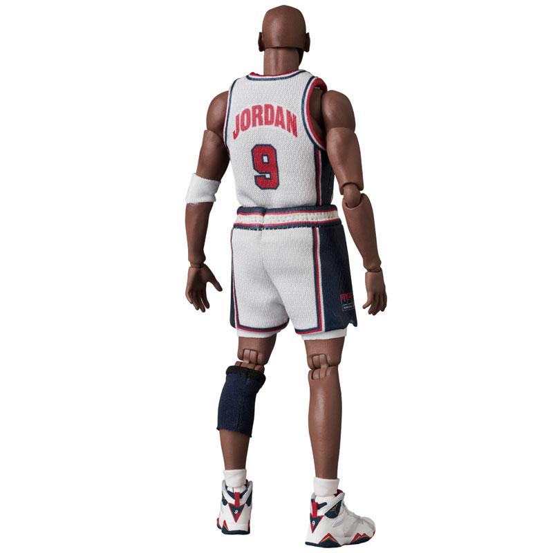 マフェックス No.100『Michael Jordan(Chicago Bulls)』可動フィギュア-004