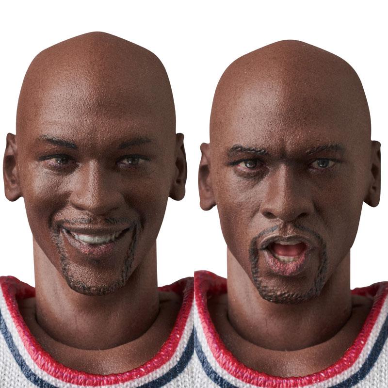 マフェックス No.100『Michael Jordan(Chicago Bulls)』可動フィギュア-005