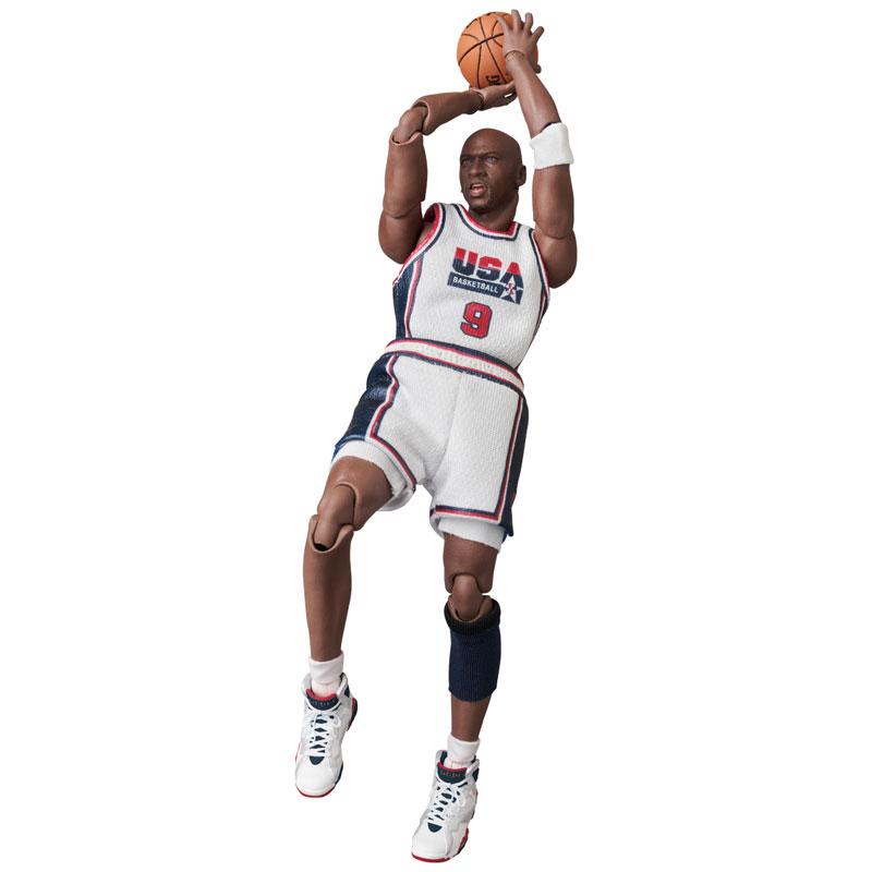 マフェックス No.100『Michael Jordan(Chicago Bulls)』可動フィギュア-006