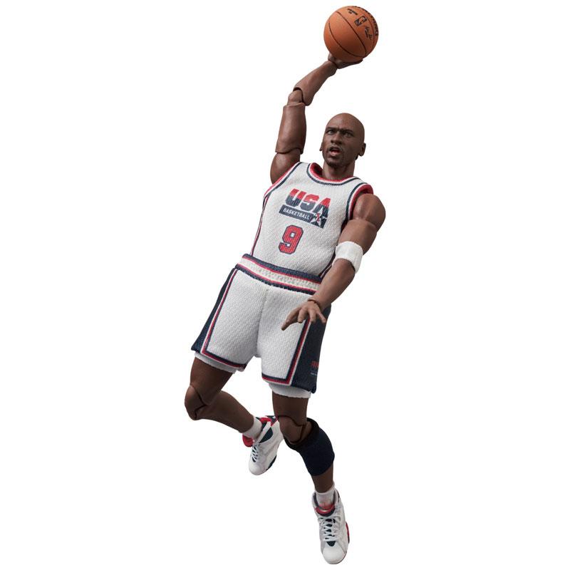 マフェックス No.100『Michael Jordan(Chicago Bulls)』可動フィギュア-007