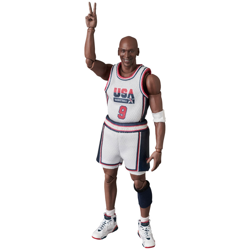マフェックス No.100『Michael Jordan(Chicago Bulls)』可動フィギュア-009