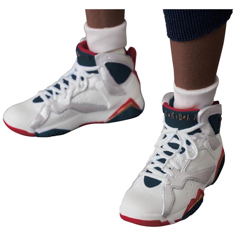 マフェックス No.100『Michael Jordan(Chicago Bulls)』可動フィギュア-010