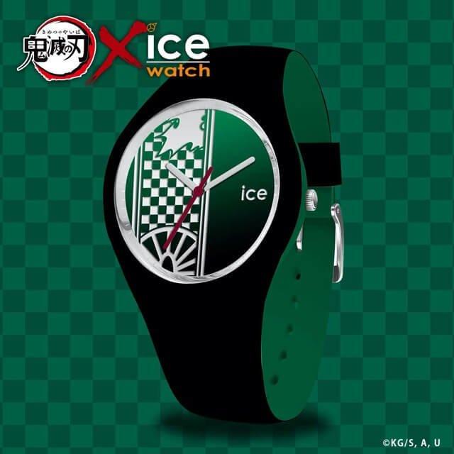 【限定販売】鬼滅の刃 × ICE-WATCH コラボレーションウォッチ『竈門 炭治郎 モデル』腕時計-002