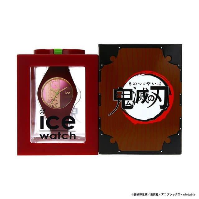 【限定販売】鬼滅の刃 × ICE-WATCH コラボレーションウォッチ『竈門 炭治郎 モデル』腕時計-019