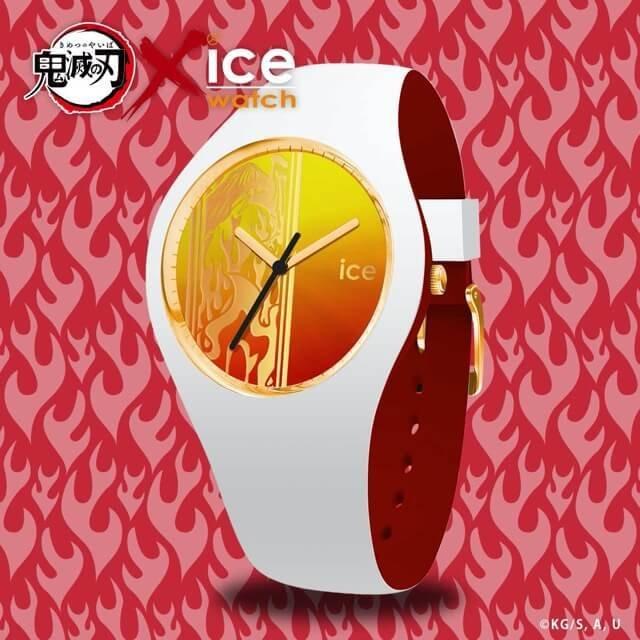 【限定販売】鬼滅の刃 × ICE-WATCH コラボレーションウォッチ『竈門 炭治郎 モデル』腕時計-038