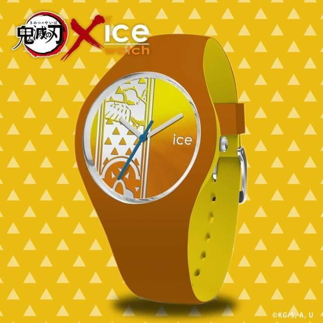 【限定販売】鬼滅の刃 × ICE-WATCH コラボレーションウォッチ『我妻 善逸 モデル』腕時計