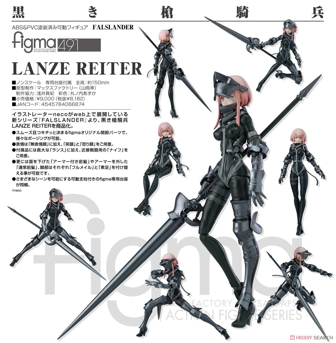 figma『LANZE REITER』FALSLANDER 可動フィギュア-009