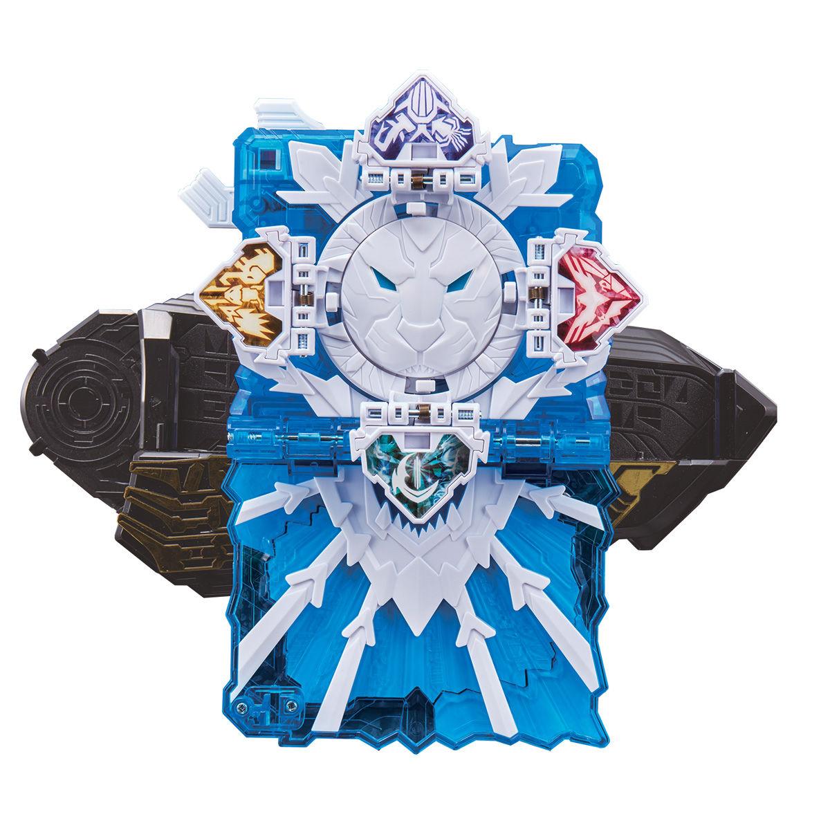 仮面ライダーセイバー『DXタテガミ氷獣戦記ワンダーライドブック』変身なりきり-002