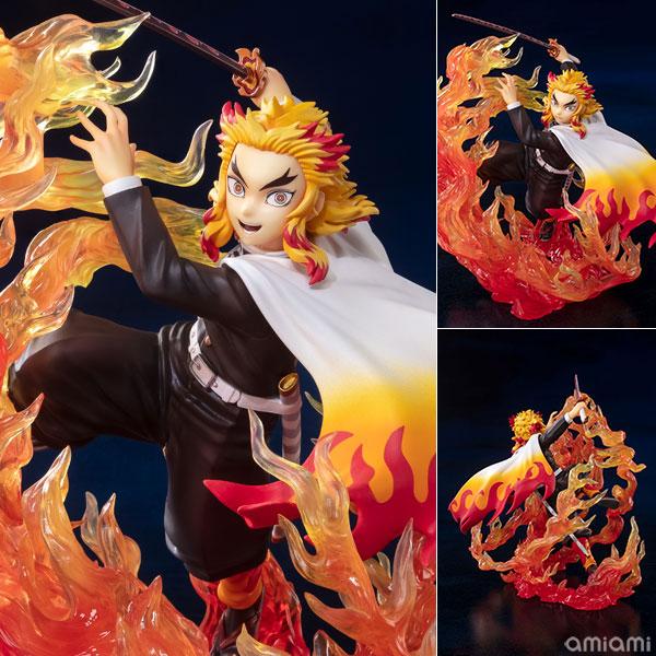 フィギュアーツZERO『煉獄杏寿郎 炎の呼吸』鬼滅の刃 完成品フィギュア