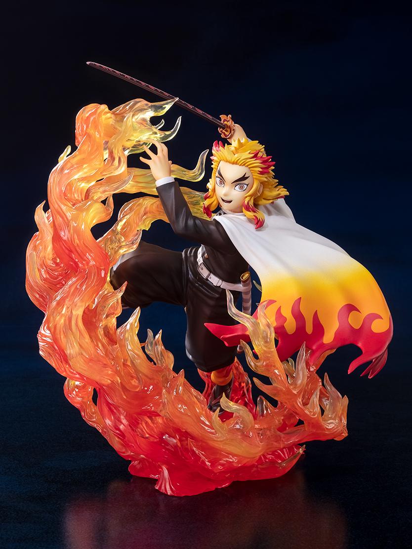 フィギュアーツZERO『煉獄杏寿郎 炎の呼吸』鬼滅の刃 完成品フィギュア-001