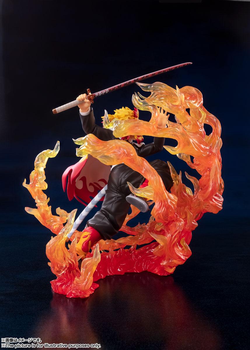 フィギュアーツZERO『煉獄杏寿郎 炎の呼吸』鬼滅の刃 完成品フィギュア-005