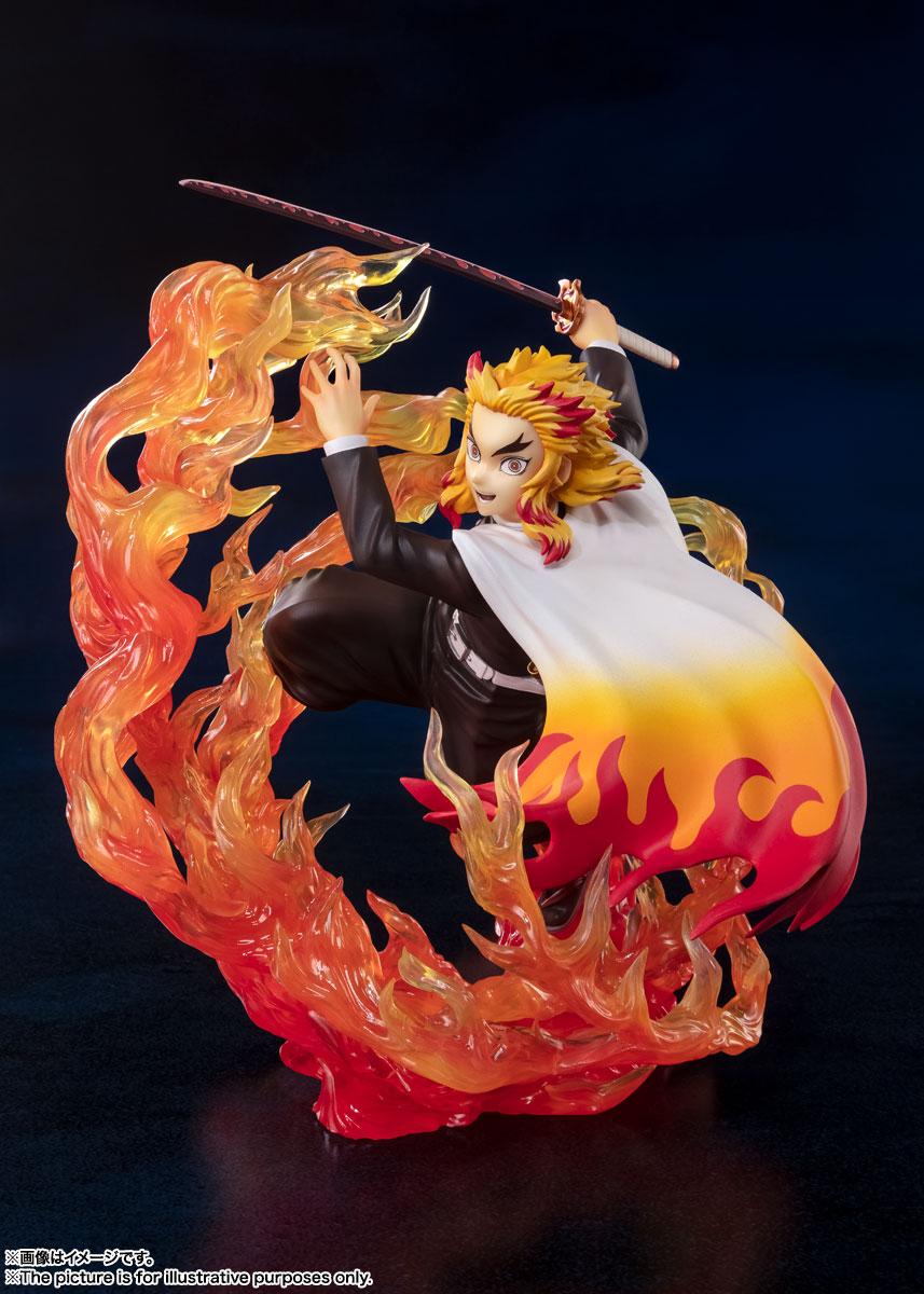 フィギュアーツZERO『煉獄杏寿郎 炎の呼吸』鬼滅の刃 完成品フィギュア-006