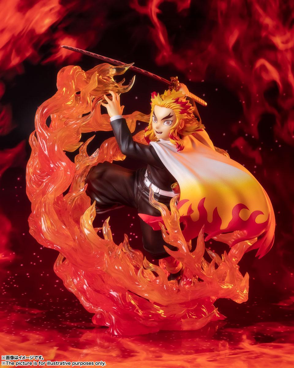 フィギュアーツZERO『煉獄杏寿郎 炎の呼吸』鬼滅の刃 完成品フィギュア-007