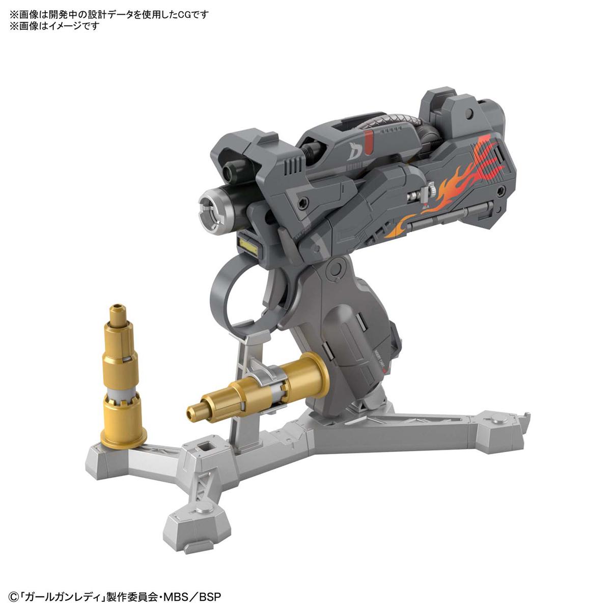 ガールガンレディ『アタックガールガン Ver.ブラボータンゴ 初回限定Ver.』GGL 1/1 プラモデル-009
