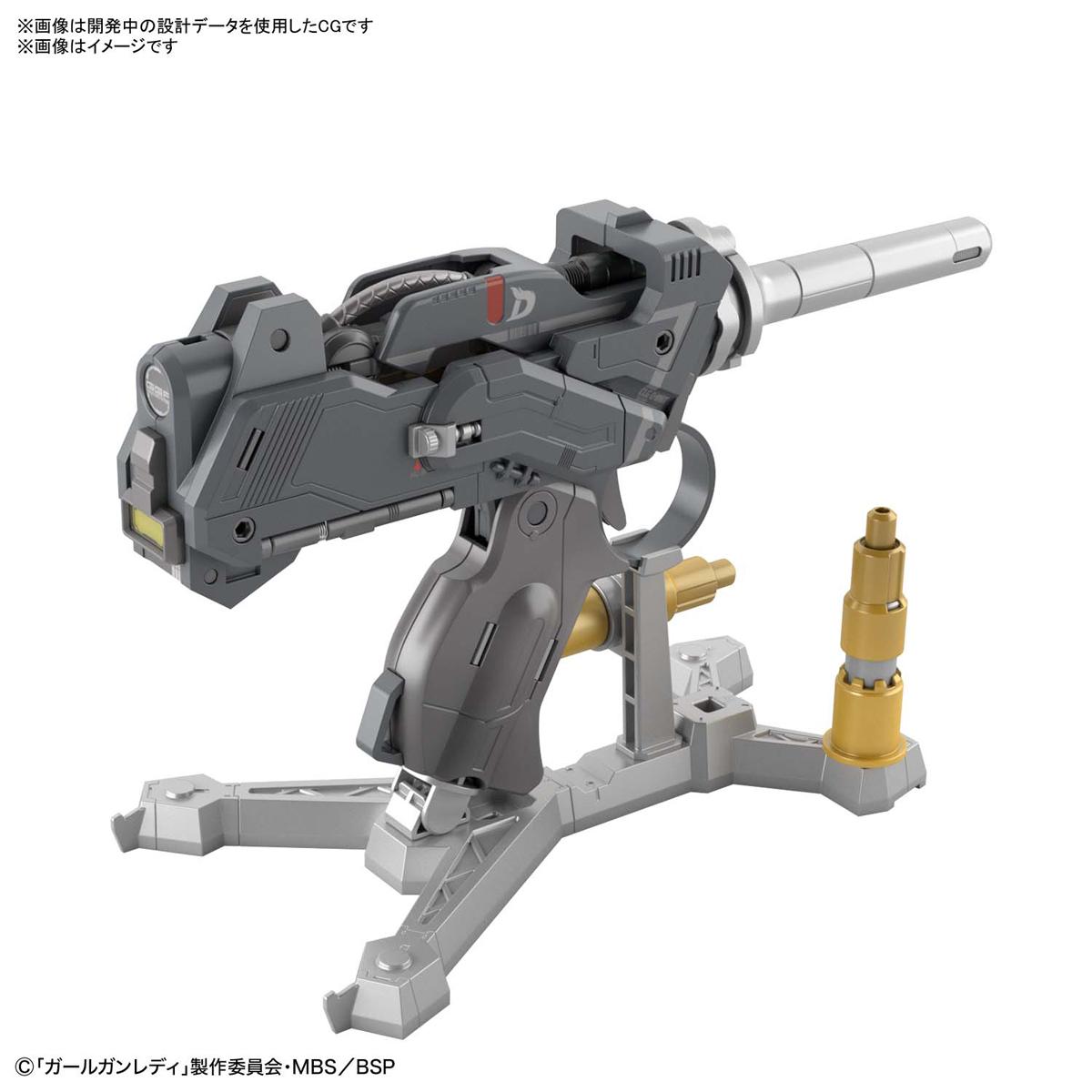 ガールガンレディ『アタックガールガン Ver.ブラボータンゴ 初回限定Ver.』GGL 1/1 プラモデル-010