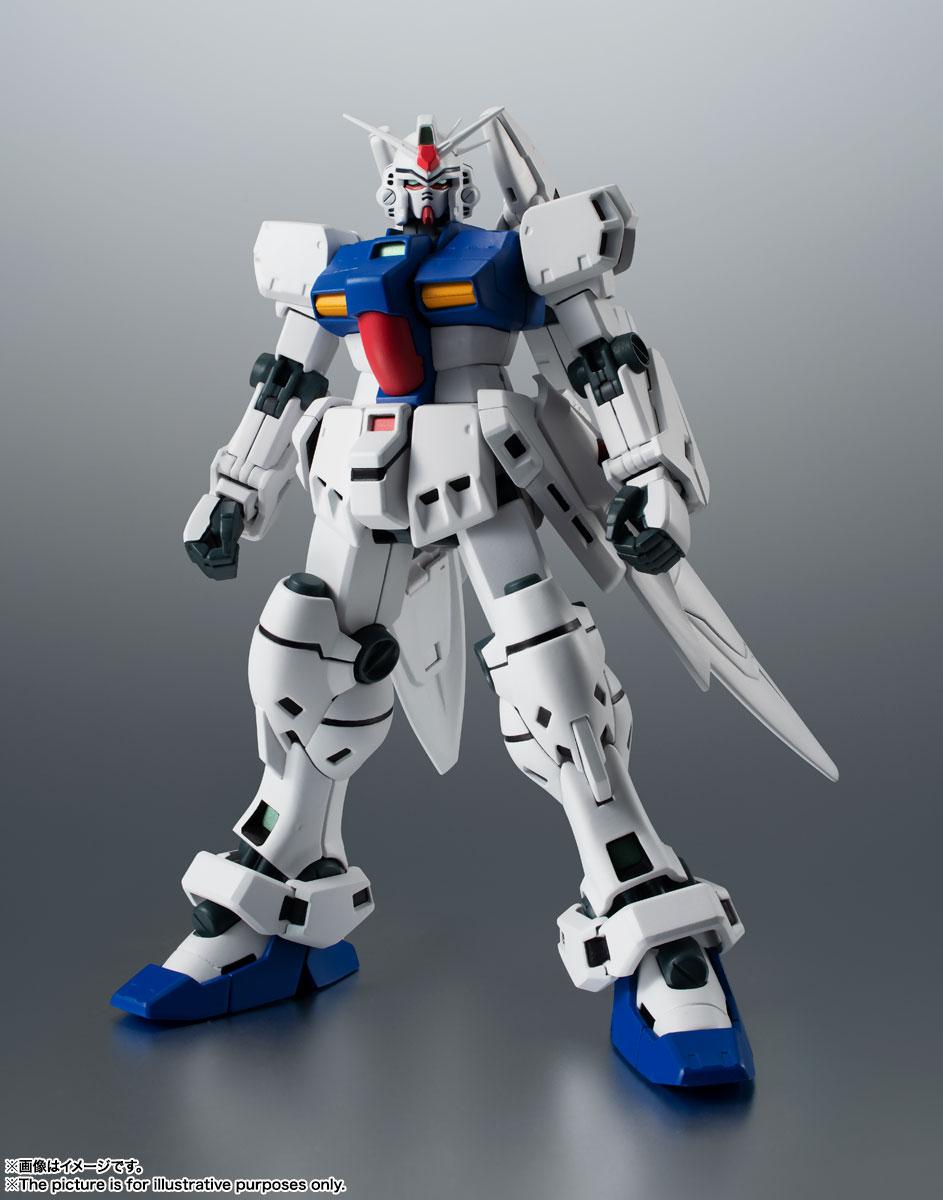 ROBOT魂〈SIDE MS〉『RX-78GP03S ガンダム試作3号機ステイメン ver. A.N.I.M.E.』機動戦士ガンダム0083 可動フィギュア-001