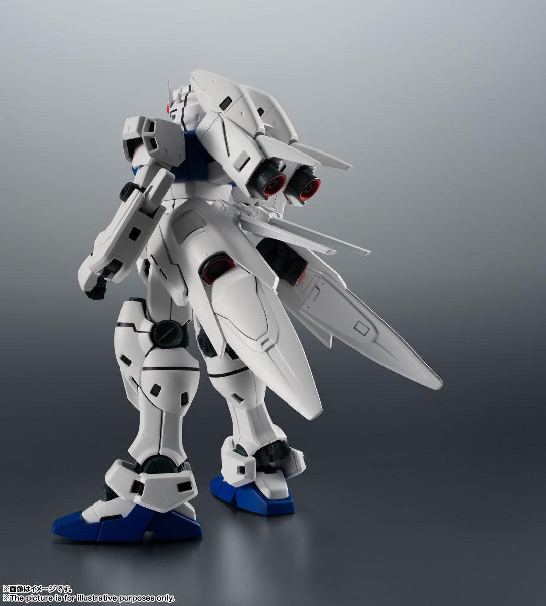 ROBOT魂〈SIDE MS〉『RX-78GP03S ガンダム試作3号機ステイメン ver. A.N.I.M.E.』機動戦士ガンダム0083 可動フィギュア-002
