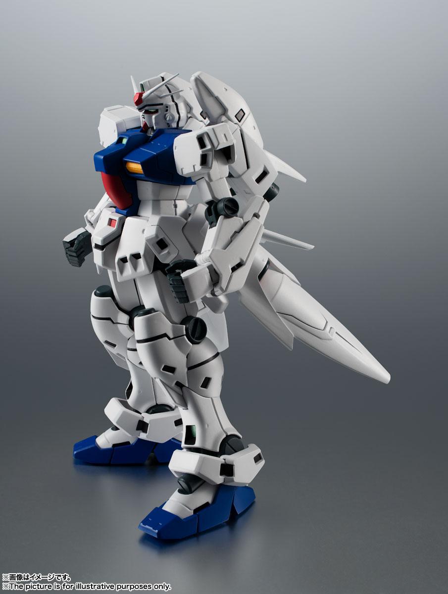 ROBOT魂〈SIDE MS〉『RX-78GP03S ガンダム試作3号機ステイメン ver. A.N.I.M.E.』機動戦士ガンダム0083 可動フィギュア-006