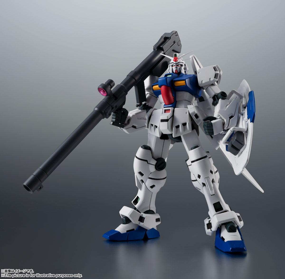 ROBOT魂〈SIDE MS〉『RX-78GP03S ガンダム試作3号機ステイメン ver. A.N.I.M.E.』機動戦士ガンダム0083 可動フィギュア-007