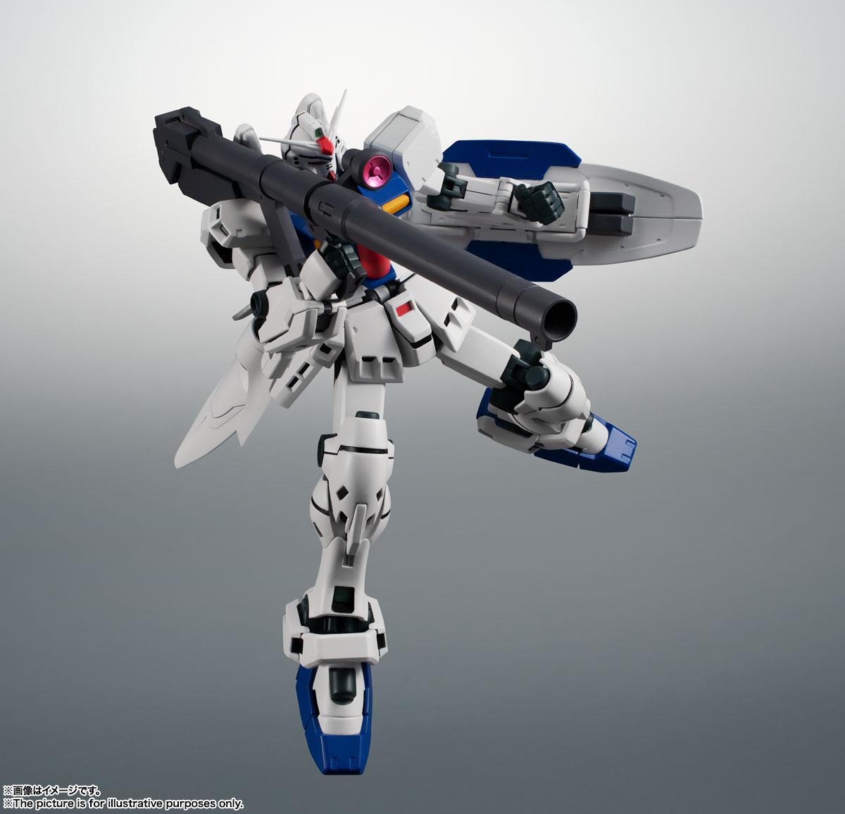 ROBOT魂〈SIDE MS〉『RX-78GP03S ガンダム試作3号機ステイメン ver. A.N.I.M.E.』機動戦士ガンダム0083 可動フィギュア-008