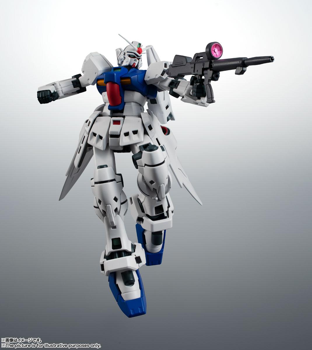 ROBOT魂〈SIDE MS〉『RX-78GP03S ガンダム試作3号機ステイメン ver. A.N.I.M.E.』機動戦士ガンダム0083 可動フィギュア-009