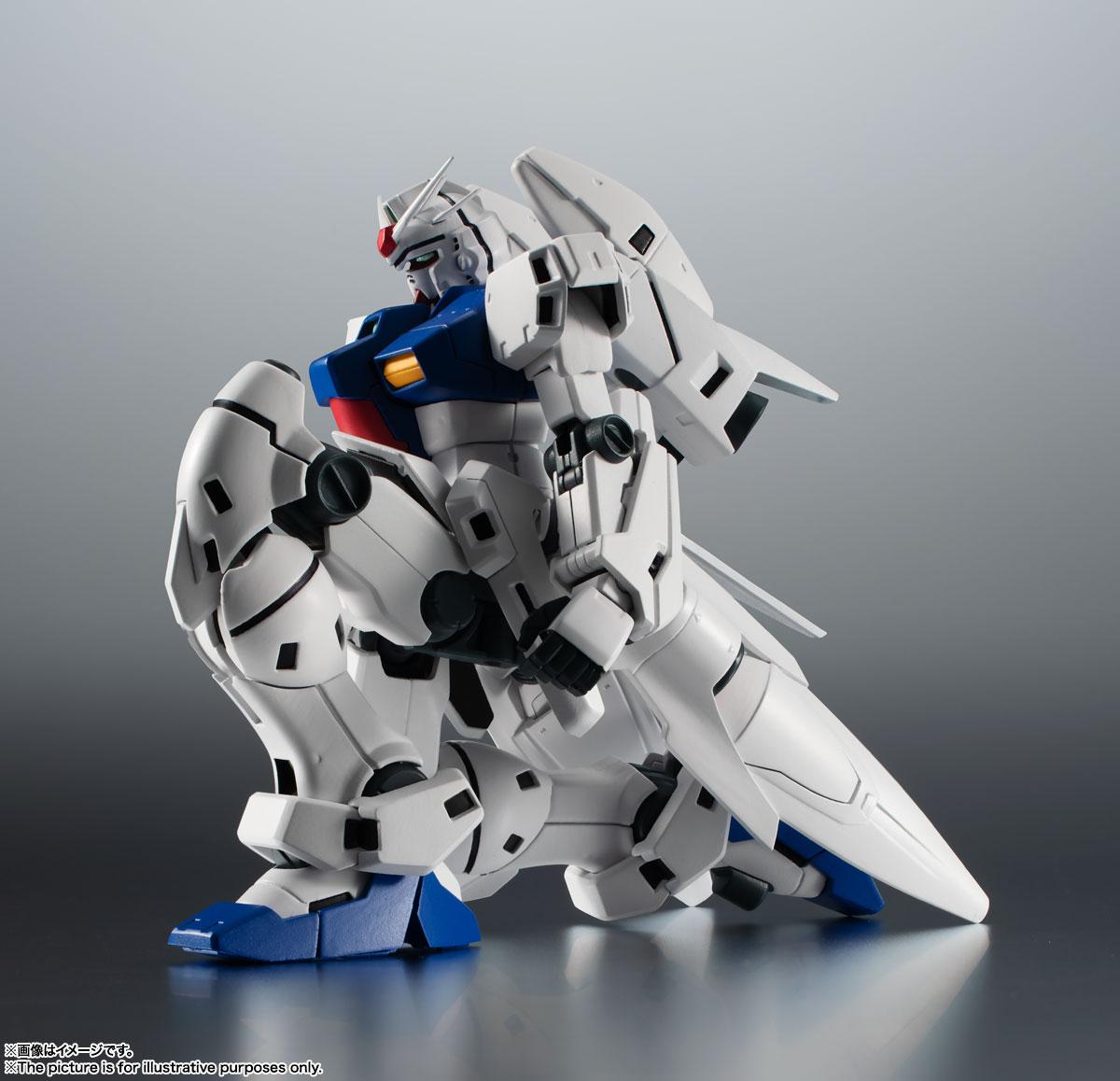 ROBOT魂〈SIDE MS〉『RX-78GP03S ガンダム試作3号機ステイメン ver. A.N.I.M.E.』機動戦士ガンダム0083 可動フィギュア-010