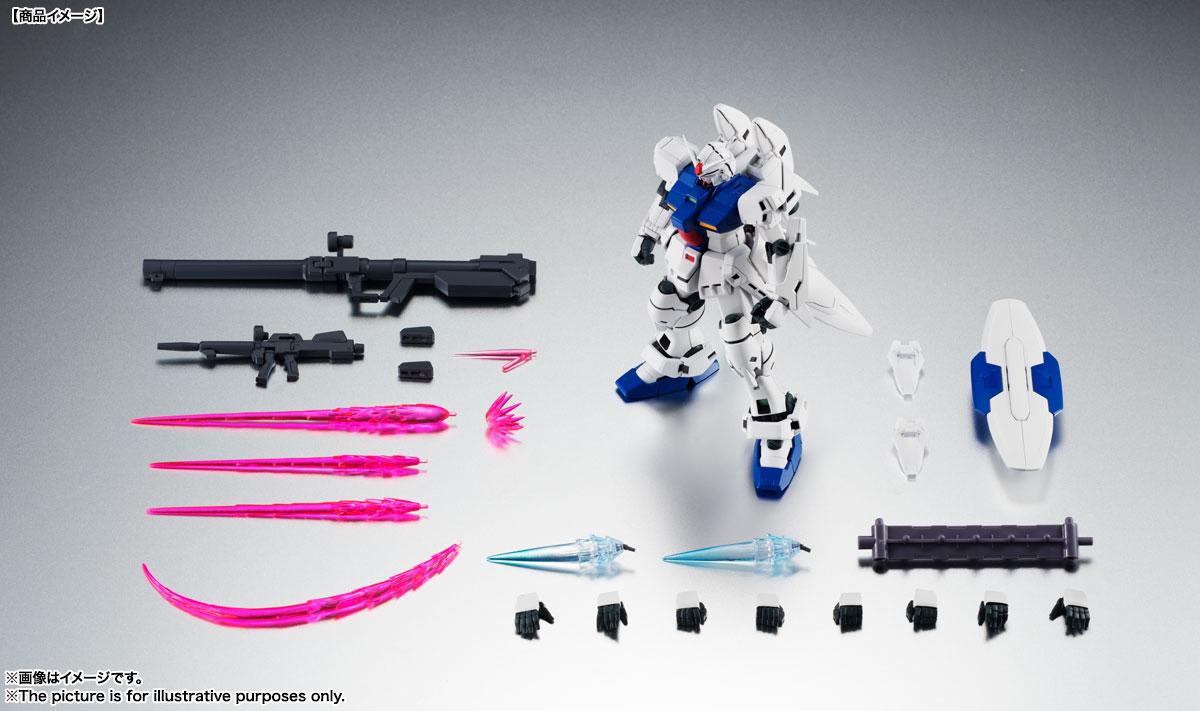 ROBOT魂〈SIDE MS〉『RX-78GP03S ガンダム試作3号機ステイメン ver. A.N.I.M.E.』機動戦士ガンダム0083 可動フィギュア-016