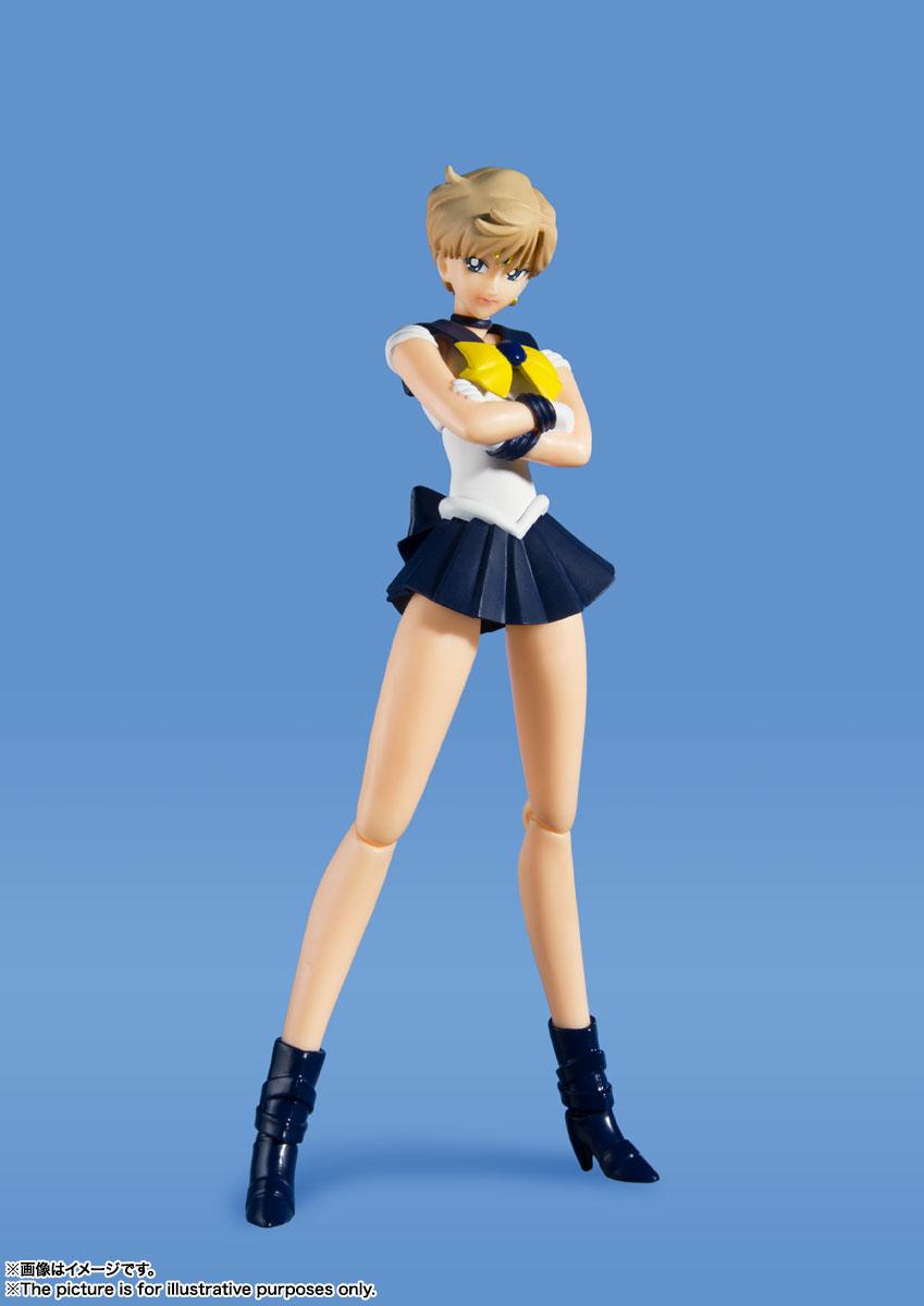 S.H.Figuarts『セーラーウラヌス -Animation Color Edition-』美少女戦士セーラームーンS 可動フィギュア-003