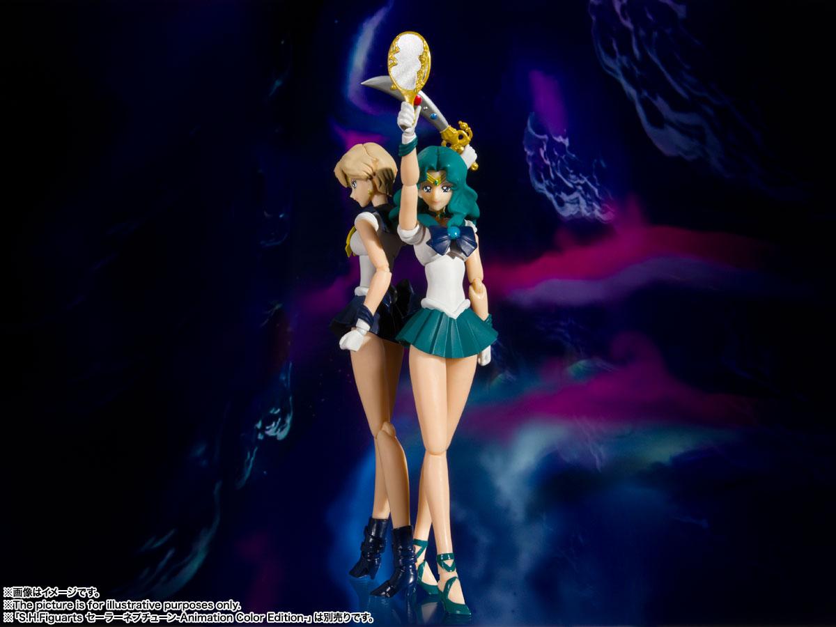 S.H.Figuarts『セーラーウラヌス -Animation Color Edition-』美少女戦士セーラームーンS 可動フィギュア-007