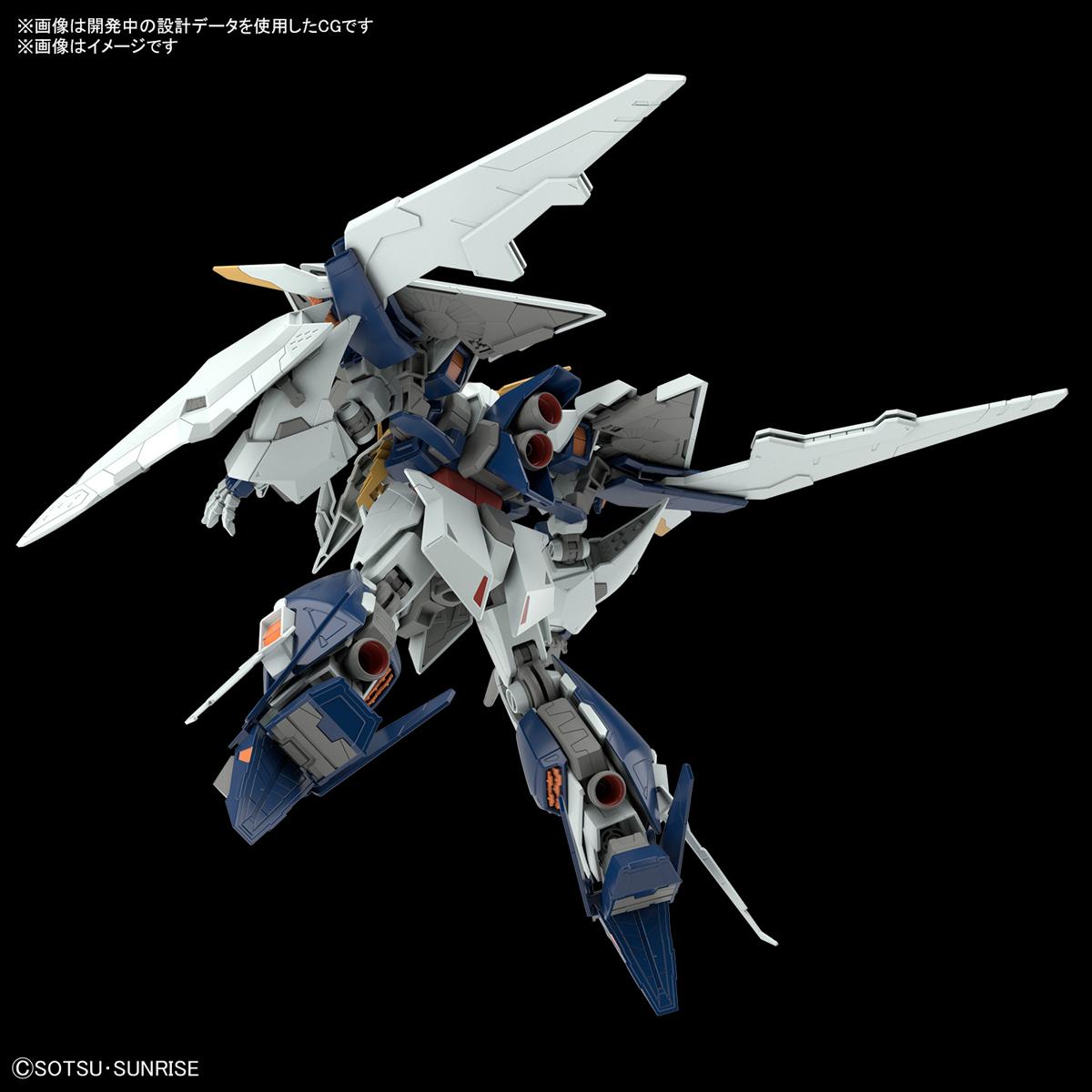 HGUC 1/144『Ξガンダム(クスィーガンダム)』機動戦士ガンダム 閃光のハサウェイ プラモデル-005