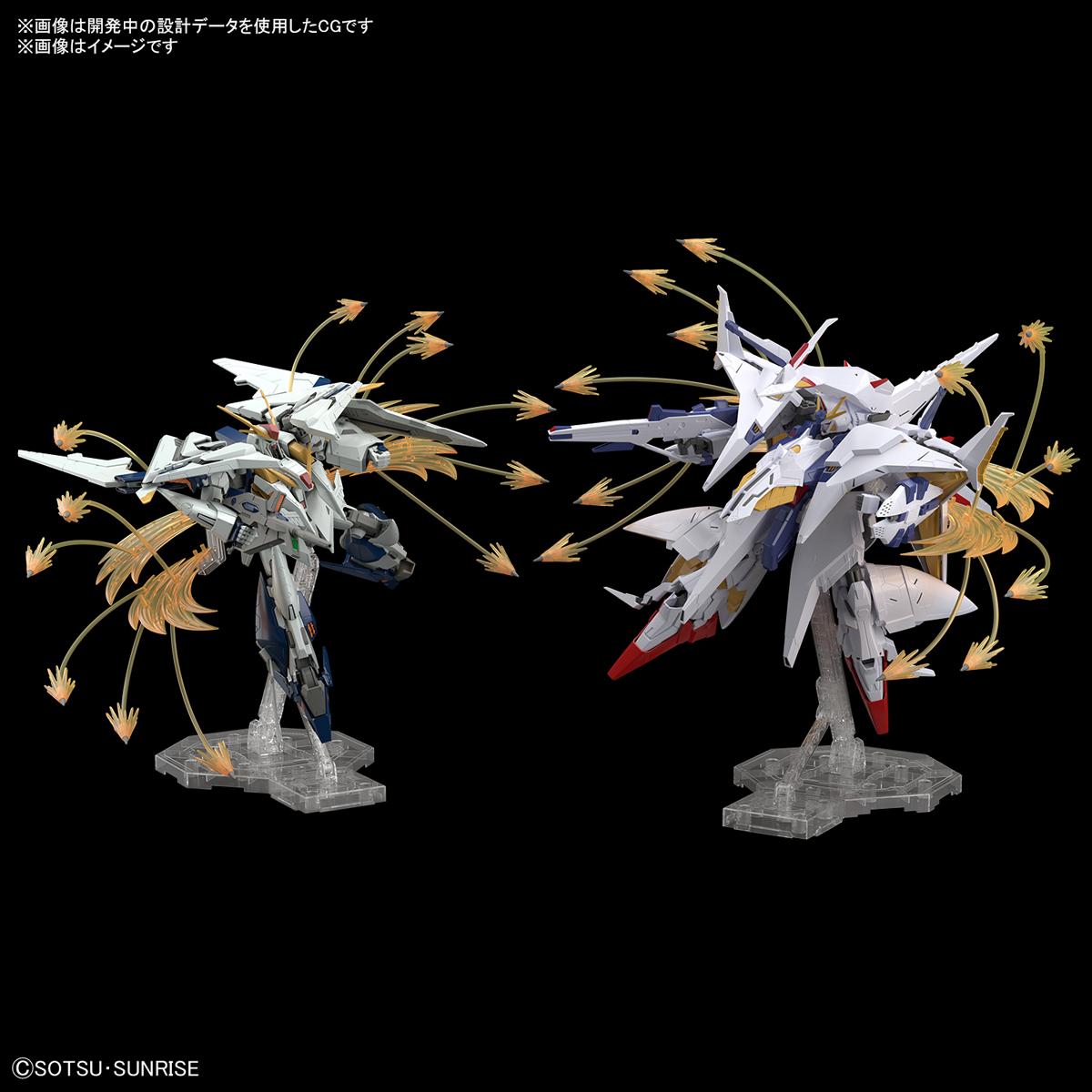 HGUC 1/144『Ξガンダム(クスィーガンダム)』機動戦士ガンダム 閃光のハサウェイ プラモデル-011